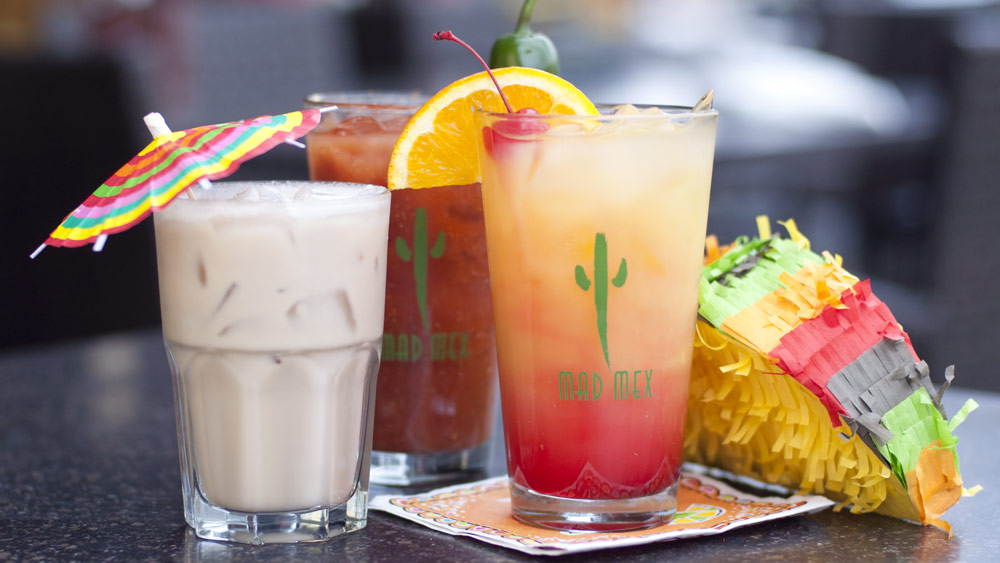 Breakfast drinks on Cinco de Mayo