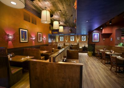 Mad Mex Canonsburg interior dining room