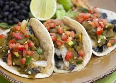 Hatch Chile 'Shroom Taco