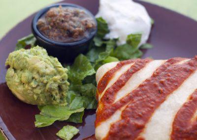 Chicken & Hatch Chile Burrito