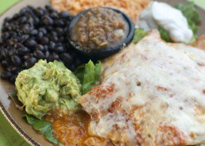 Chicken & Hatch Chile Enchilada